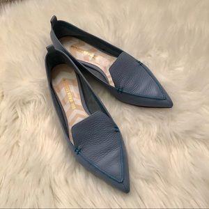 [Nicholas Kirkwood] Beya Leather Loafers Flats 7.5